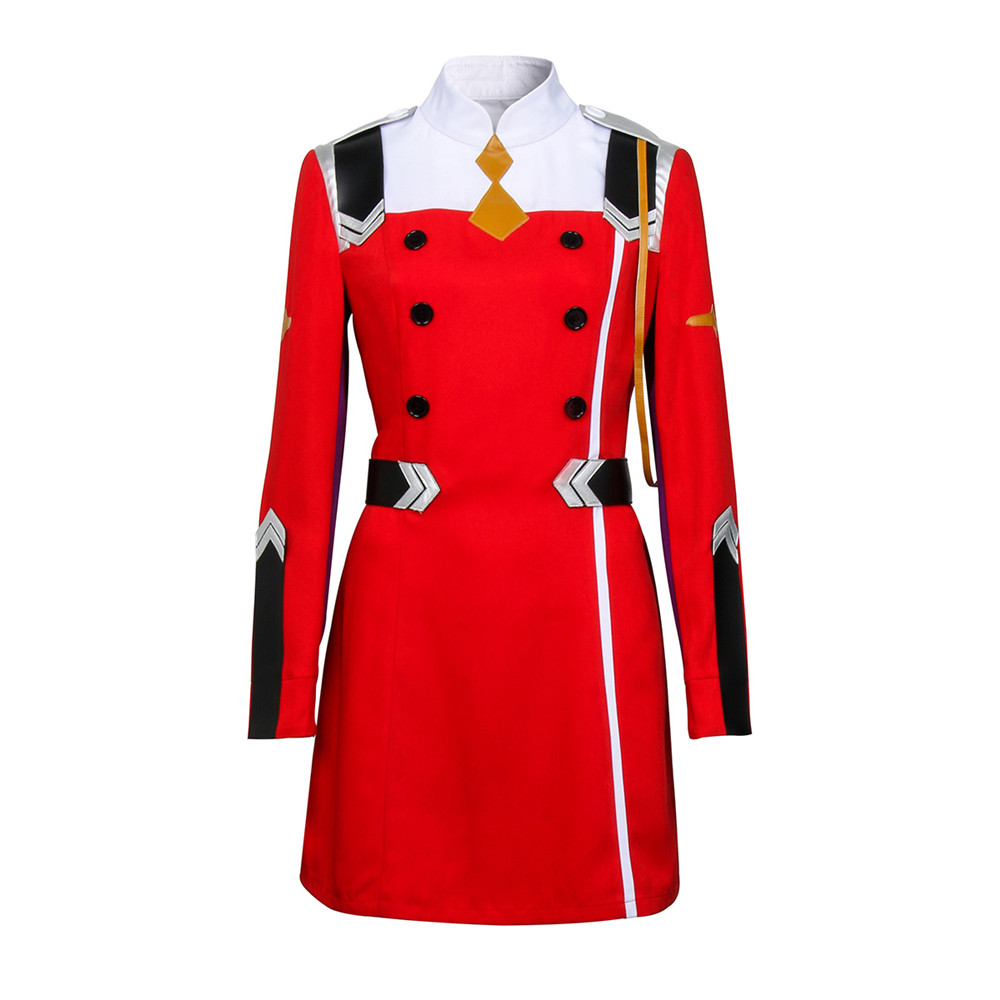 Takerlama Anime DARLING in the FRANXX Hiro CODE 016 Zero ICHIGO Two MIKU Cosplay Costume Uniform KOKORO School Uniform Cosplay
