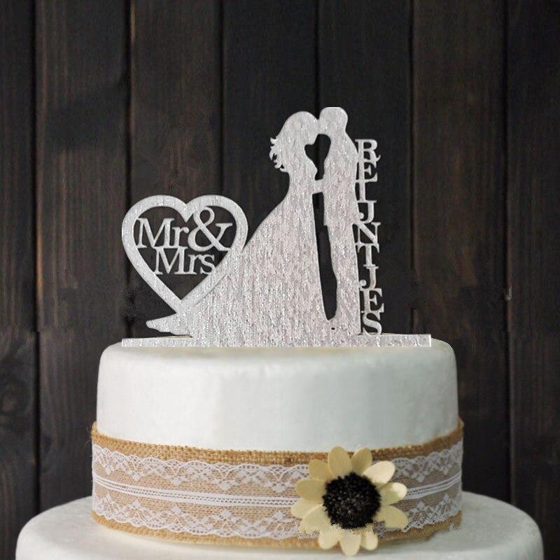 Wedding Cake Recipe Custom History: Personalized Wedding Cake Topper, Wedding Decoration