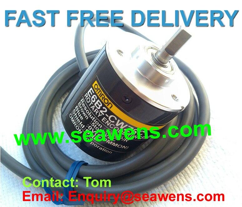 E6B2-CWZ5B 50P/R encoder,E6B2-CWZ5B encoder, Diameter 40 mm series e6a2 cs5c 50p r rotary encoder new e6a2cs5c 50p r 50pr compact size e6a2 cs5c