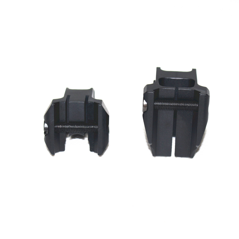 Image 3 - Tactical Fixed Front Rear Sight Streamline Design Standard AR15 Apertures Iron Sights Hunting Airsoft Accessories-in Paintball Accessories from Sports & Entertainment