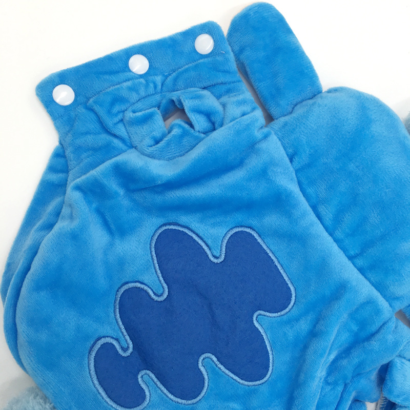 Warm Dog Jacket with Hoodie and Button Closure Design for Small Dogs and Cats 12