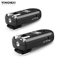 YONGNUO RF 603 II Flash Trigger 2 Transceivers Set Shutter Release for Nikon RF 603 II N1 N3