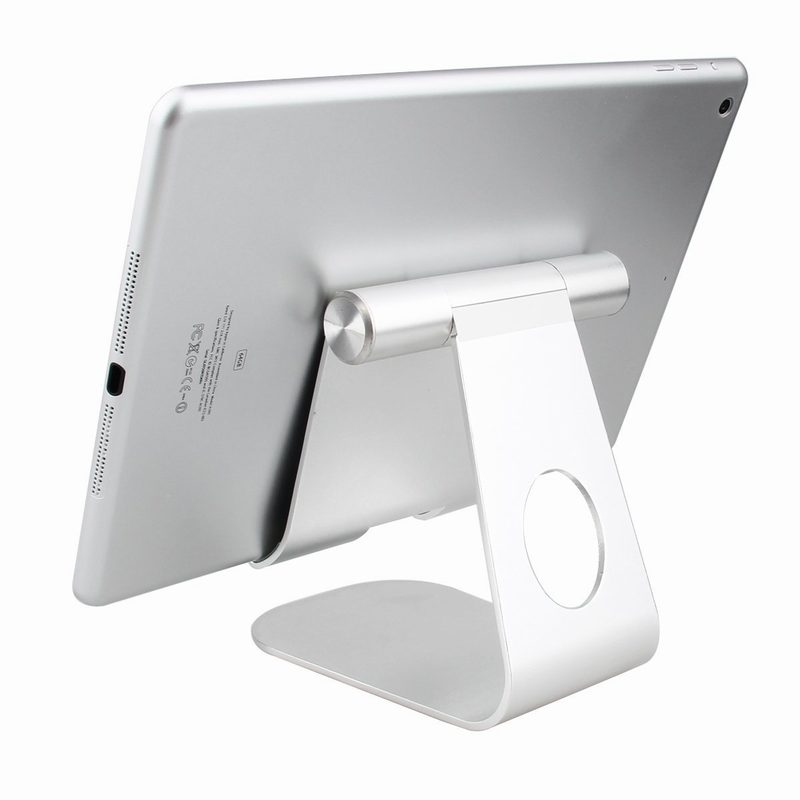 Soporte Pie Tablet Aluminum Alloy Desktop Holder Stand For Iphone 7 Plus Ipad Mini 4 3 2 Air Pro In Mobile Phone Holders