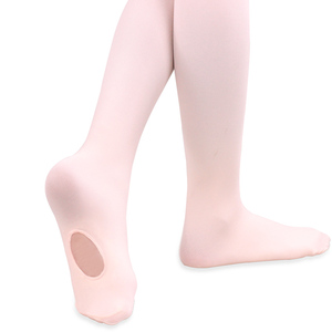New Arrival Professional Kids Children Girls Soft Microfiber Convertible Ballet Dance Tights(China)