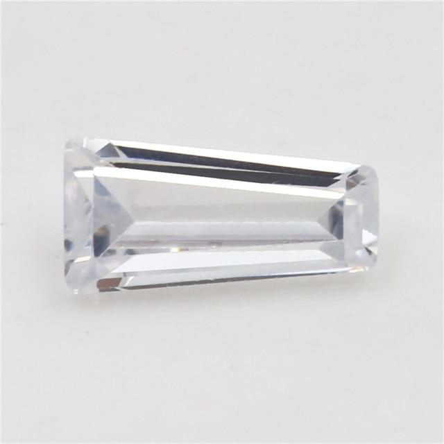 4х4мм ~ 10х10мм трапециевидная форма белый ааааа свободный циркониевый