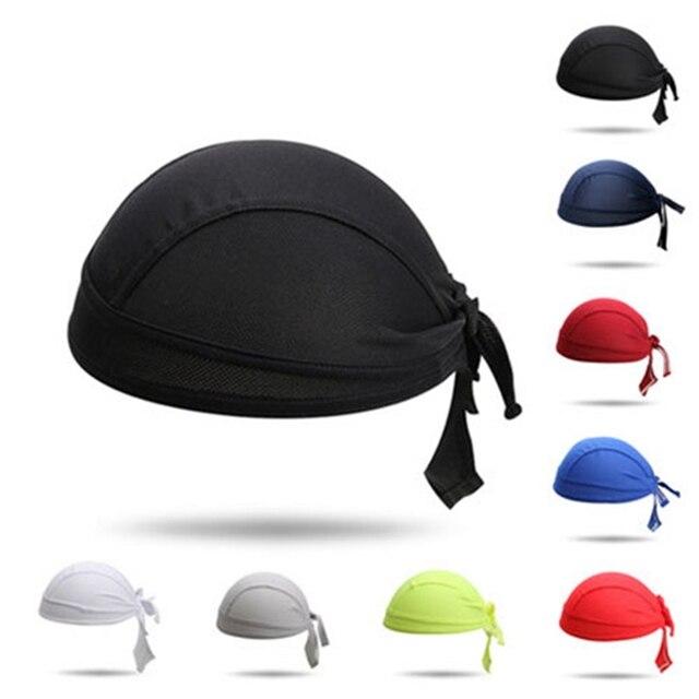 gamme exclusive choisir officiel nouvelle saison Femmes hommes vélo chapeau écharpe Ciclismo cyclisme casque casquette noir  vélo bandeau tête écharpe vtt équipe Pirate écharpe chapeaux vert rouge