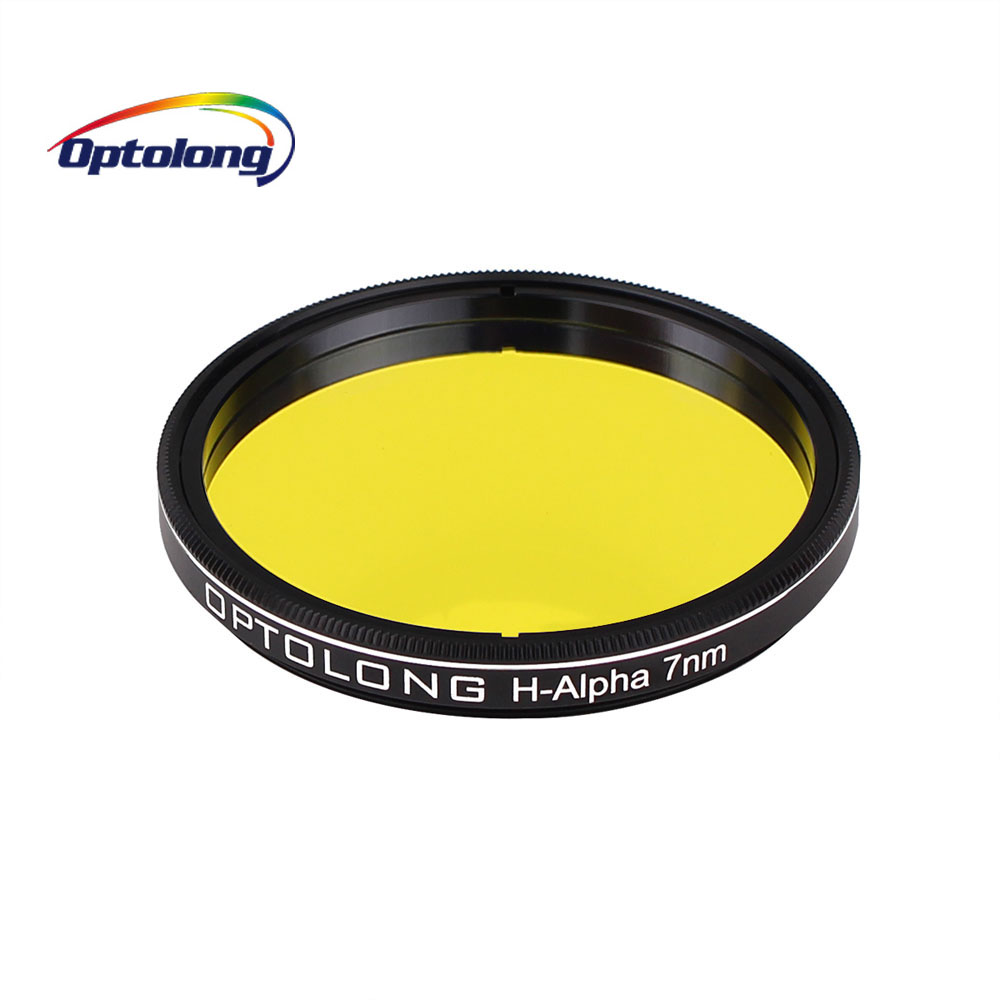 OPTOLONG Filter H-Alpha 7nm 2 for Astronomy Telescope Monocular Narrowband Astronomical Photographic Filters M0015