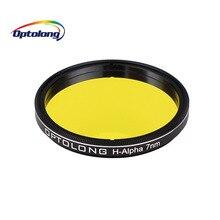 """Optolong フィルター h アルファ 7nm 2 """"天文学望遠鏡単眼狭帯域天体写真フィルター LD1010D"""