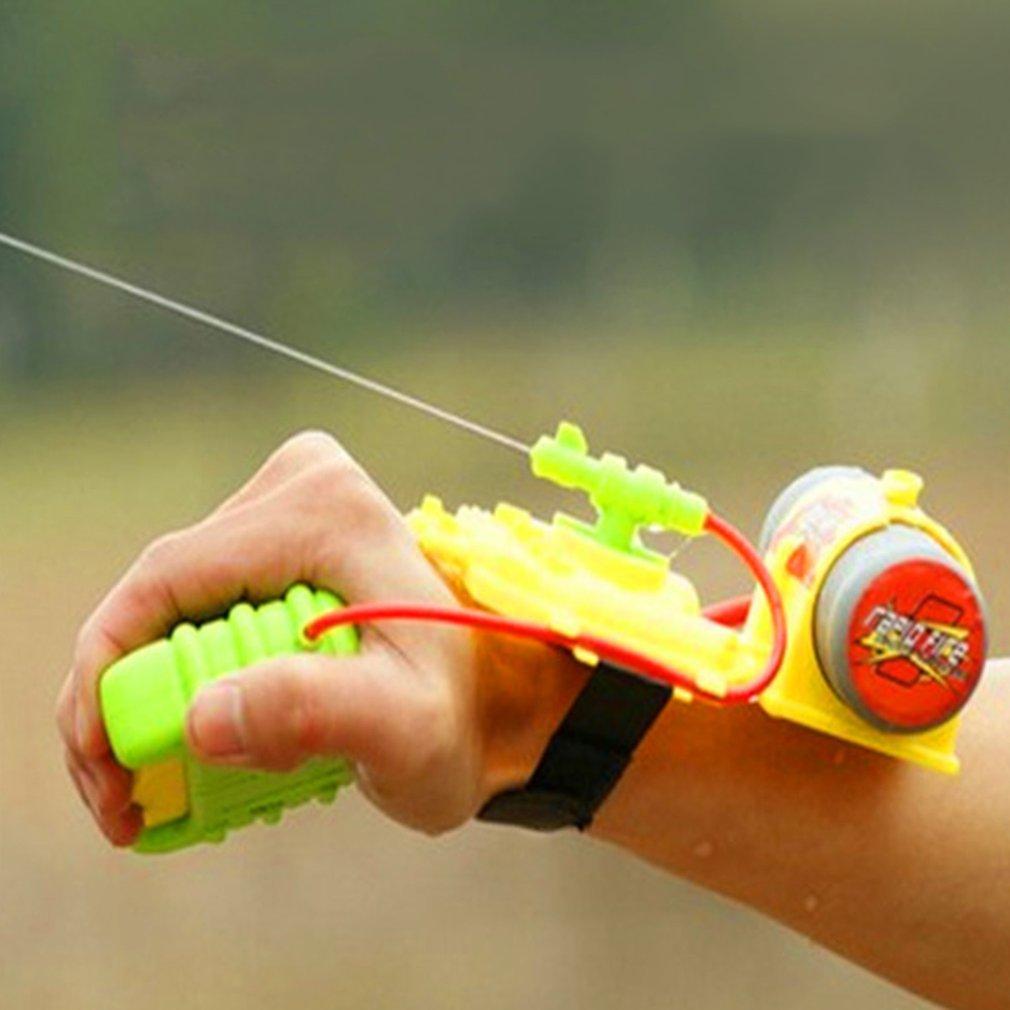 ABS 4 Meters Range Wrist Water Gun Beach Toy Water Gun Toy Backpack Outdoor Swimming Pool Sprinkling Water Kids Baby Shooter Toy