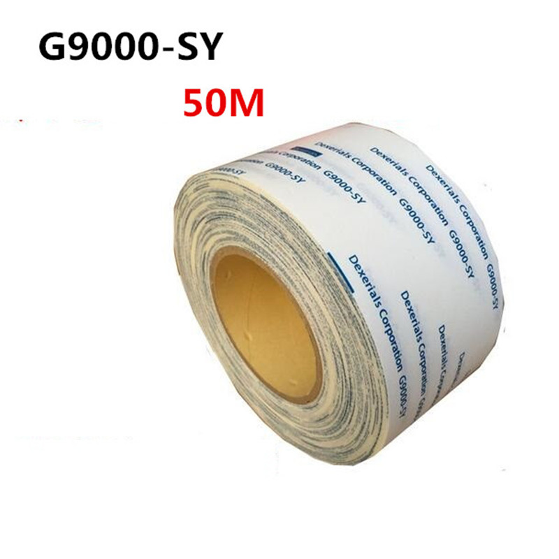 G9000-SY 50M double-sided tape plastic car metal electronic panel high temperature paste non-woven double-sided tape g9000