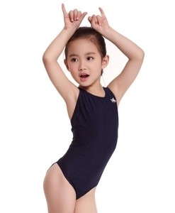 Image 4 - Yingfa Racing Children One Piece Swimsuits Kids Girls Swimwear Sports Baby Bathing Suits Bathers For Training Competition