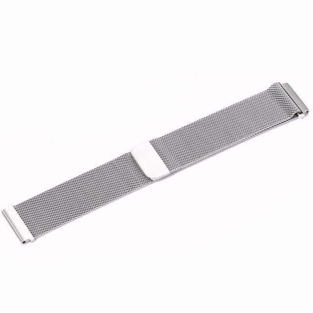 ONLENY Stainless Steel Watch Band 22mm Magnetic Mesh Strap for Huami 2/2s stratos