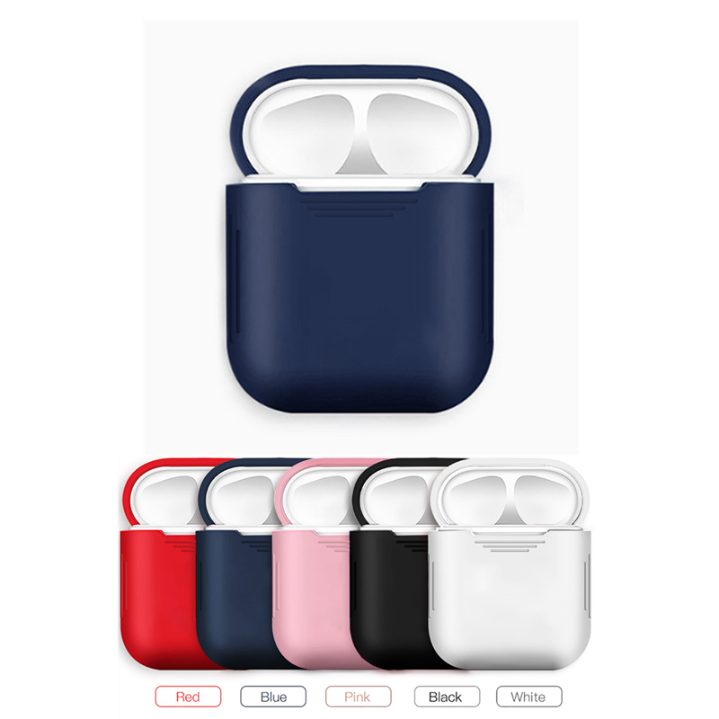 Soft TPU Silicone cover protective case For <font><b>airpods</b></font> earphone charging box For air pods i12 i7 <font><b>i10</b></font> charger protection shell Cases image