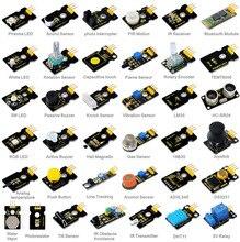 Nuovo! keyestudio 37 in 1 kit sensore per arduino antipasti con 37 progetto pdf
