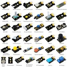 Nowość! keyestudio 37 w 1 zestaw czujnika dla arduino starters z 37 projektu pdf