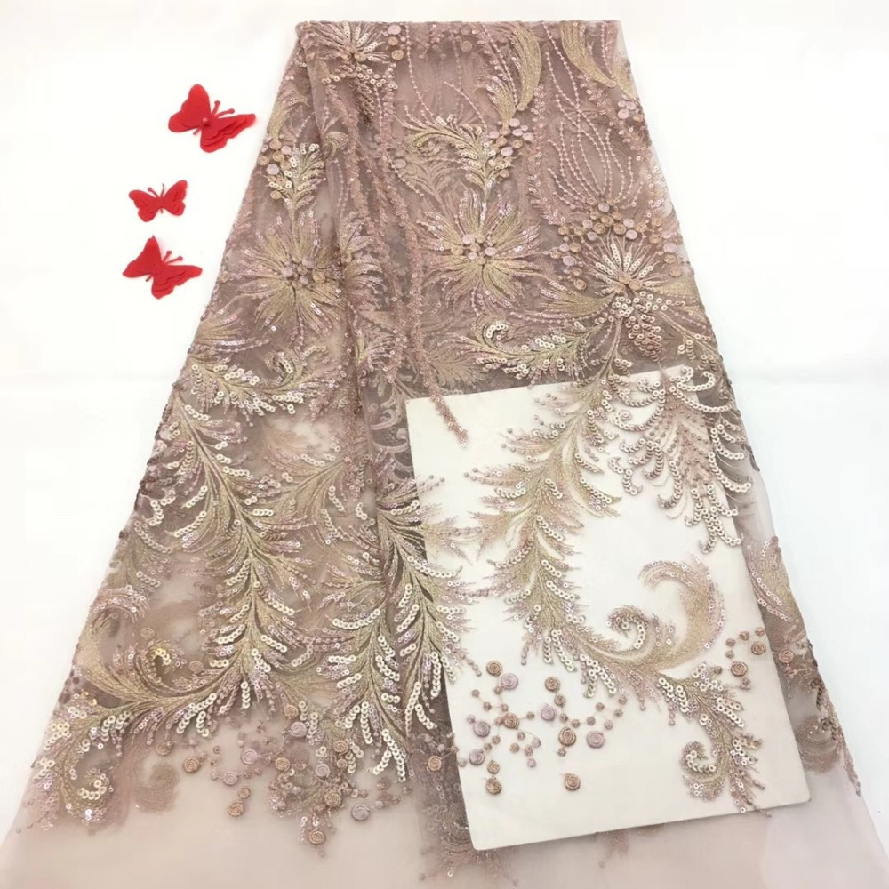 New Nigerian Lace Fabrics, Fine Embroidered African Web Fabrics, Party Garments with FlapsNew Nigerian Lace Fabrics, Fine Embroidered African Web Fabrics, Party Garments with Flaps