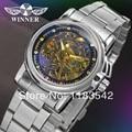 WINNER Woman's Watch Fashion Ladies Automatic Stainless Steel Bracelet Wristwatch  WRL8011M4S1