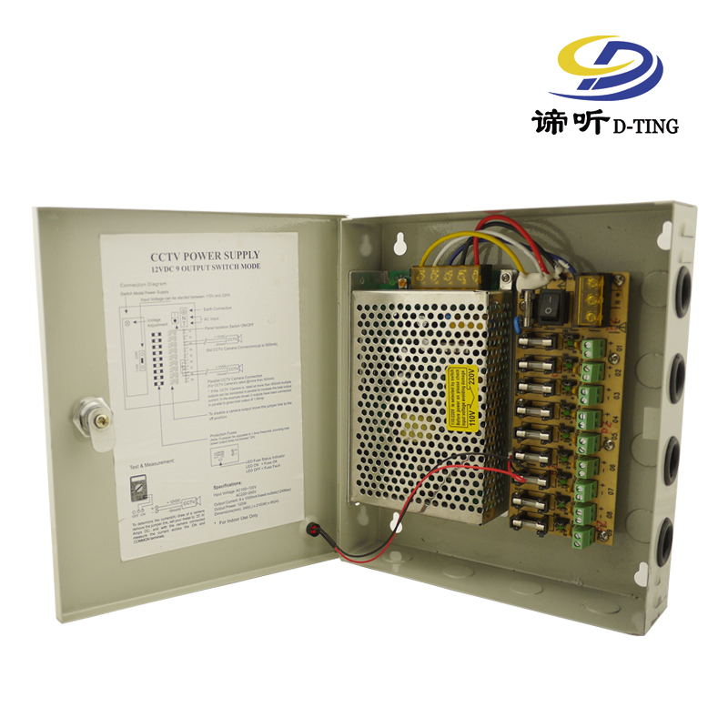 D TING 9CH 12V5A 60W 9channel power supply fuse switching multiple box many output 60W CCTV d ting 9ch 12v5a 60w 9channel power supply fuse switching multiple Electrical Power Cord Types at crackthecode.co