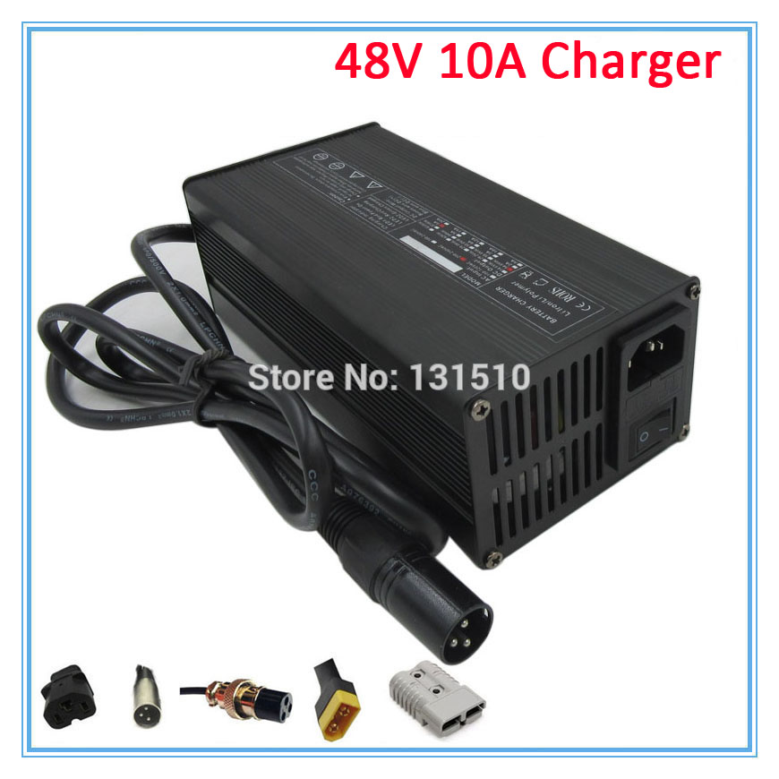 600W 48V 10A lead-acid <font><b>charger</b></font> 48V <font><b>Electric</b></font> Car <font><b>charger</b></font> <font><b>electric</b></font> bike e-scooter <font><b>charger</b></font> <font><b>golf</b></font> <font><b>cart</b></font> <font><b>charger</b></font> DHL Free shipping image