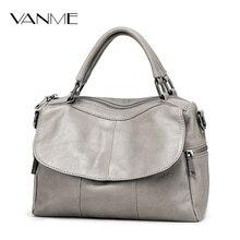 2017 Real High Quality Soft Genuine Leather Women Handbag Casual Women Boston Shoulder Bag Brand Zipper&hasp Crossbody Handbag