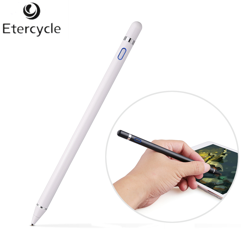 For Apple Pencil High Precision Touch Stylus Capacitance pen For iPhone iPad Pro/1/2/3/4 /iPad mini For samsung Tablet Pen shining bright magic touch stylus pen for iphone 6 6 plus ipad mini ipad 4 3 iphone 5s 4 4s ipod touch and andriod phone