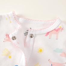 3-12 M Unicorn Baby Rompers lace Baby Girl Romper Newborn Baby onesie kids costume bebek tulum one piece Unicorn baby clothes