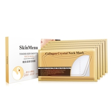Collagen Neck Mask 5pcs Anti Ageing Firming skin soften Anti-wrinkle Lifting With Retinol & Vitamin-E Collagen Crystal Neck Mask