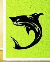벽 스티커 비닐 데칼 상어