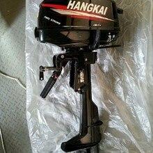 Лучшая качественная конкурентоспособная цена 4,0 hp 2-х тактный лодочный мотор Hangkai 4.9KW подвесных лодочных моторов для