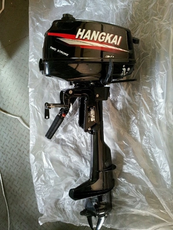 Best Quality Competitive price 4.0 HP 2 stroke boat motor Hangkai