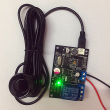 Ультразвуковой дальномер модуль датчик дальности/регулируемый диапазон 5 см-500 см датчик расстояния/расстояние Регулируемый релейный выходной датчик
