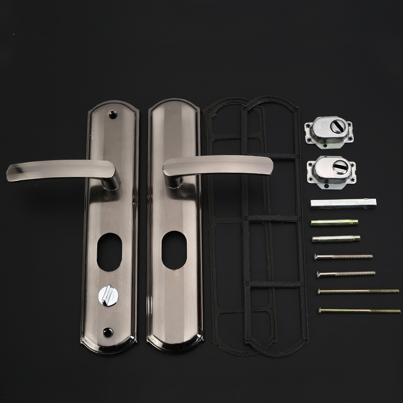 1set! Universal Security Door Handle Simple Washroom Door ...
