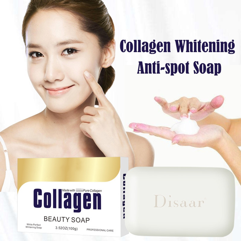 Anti-wrinkle Anti-aging Soap Handmade Collagen Soap Facial Cleanser Nourishing Deep Cleansing Whitening Skin Care HC65