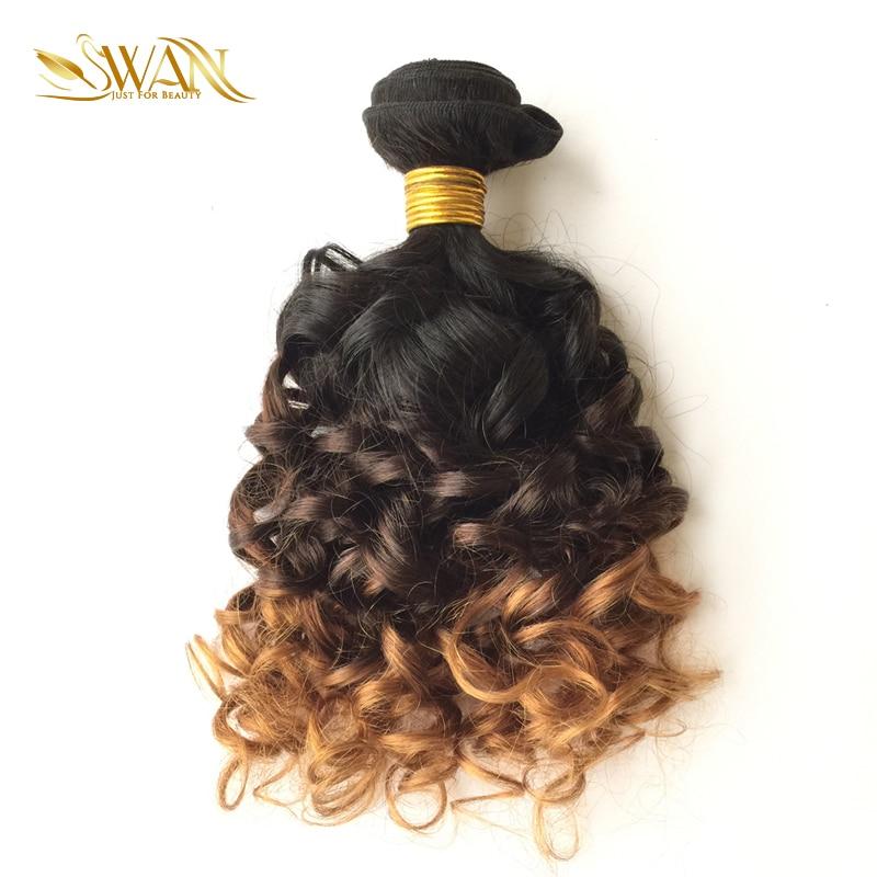 Swan Hair 9a Grade Human Hair Extension 3 Bundles Brazilian Spiral