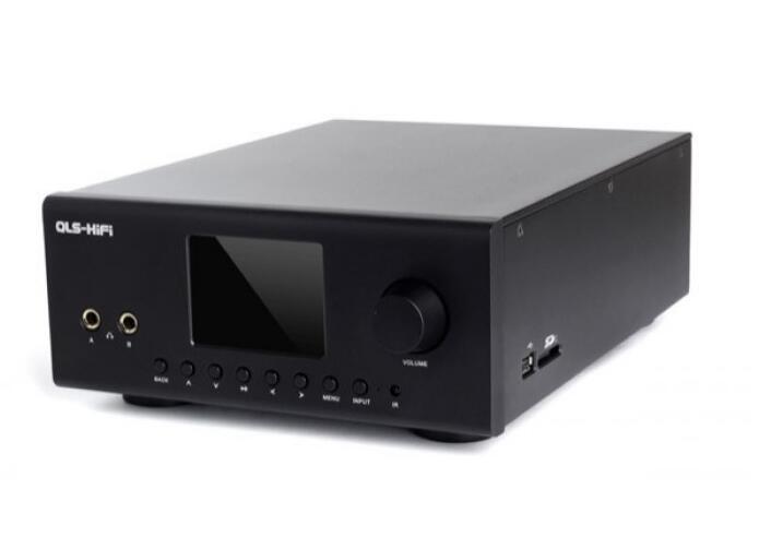 QLS QA860 AD1955 24bit 192Khz DSD sans perte numérique HiFi musique DAM casque amplificateur lecteur de musique! Livraison DHL/EMS gratuite