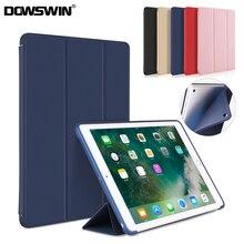 DOWSWIN Case for New iPad 9.7 2018 2017 TPU Leather Case Soft Cover for iPad 2018 Case A1822 A1893 Smart Case for iPad Mini