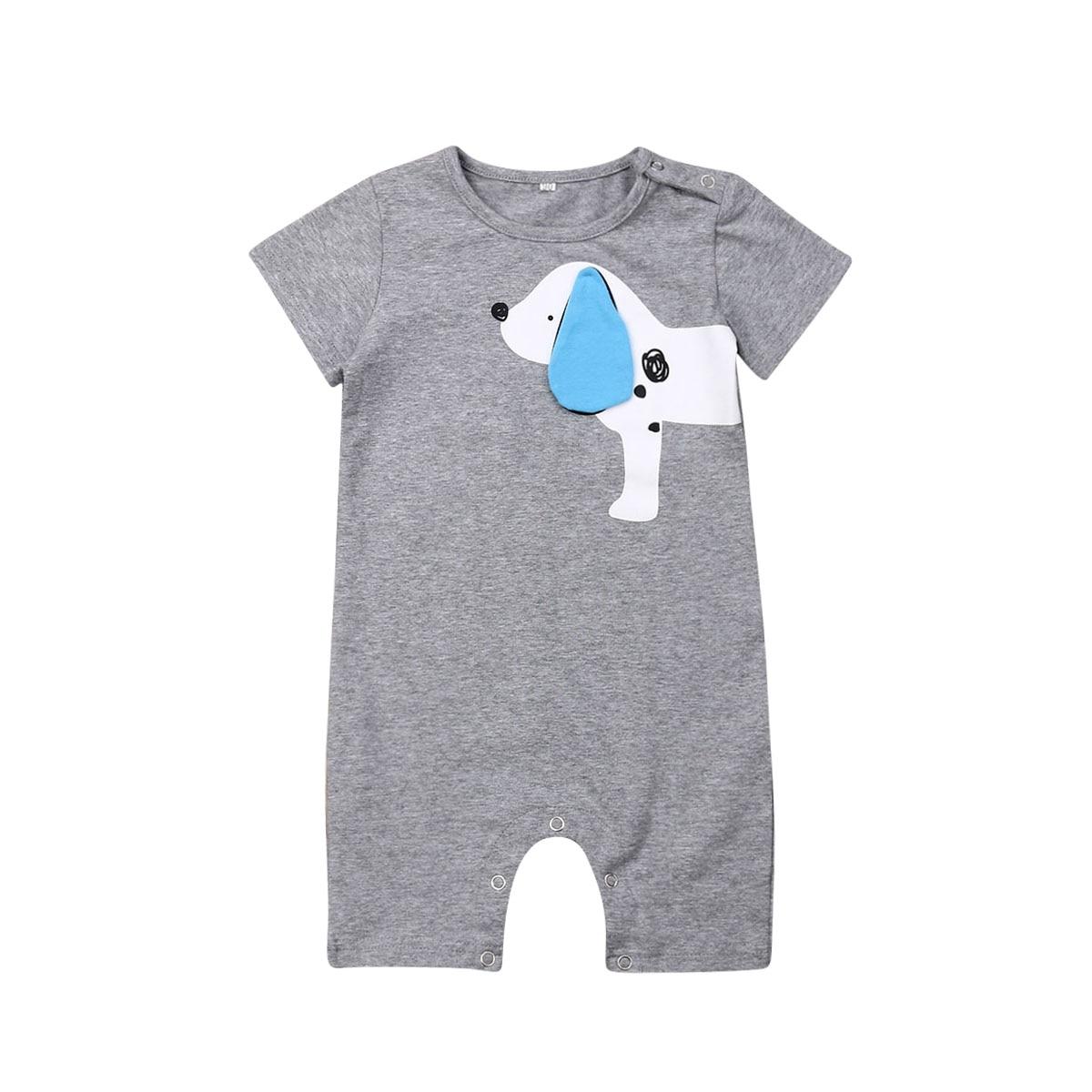 0 3 T Bayi Gambar Kartun Satu Potong Baju Monyet Bayi Yang Baru Lahir Untuk Anak Bayi Baju Monyet Jumpsuit Pakaian Set Romper Aliexpress