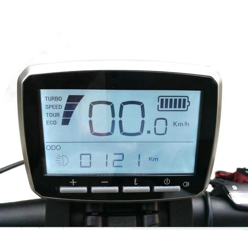 Gratis verzending Tongsheng VLCD-5 LCD-scherm voor koppelsensor TSDZ2 Mid-aandrijfmotor
