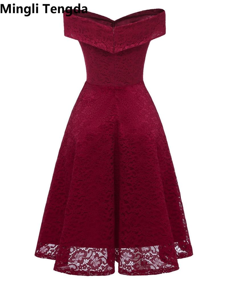 8d1498a80 2018 vestidos de dama de honor rojos vestidos cortos para fiesta de ...