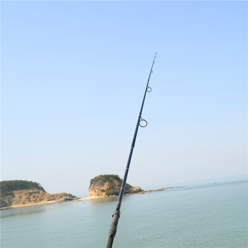 Pesca de Carbono Ultraleve Macio 1.5 Seções 1-7g