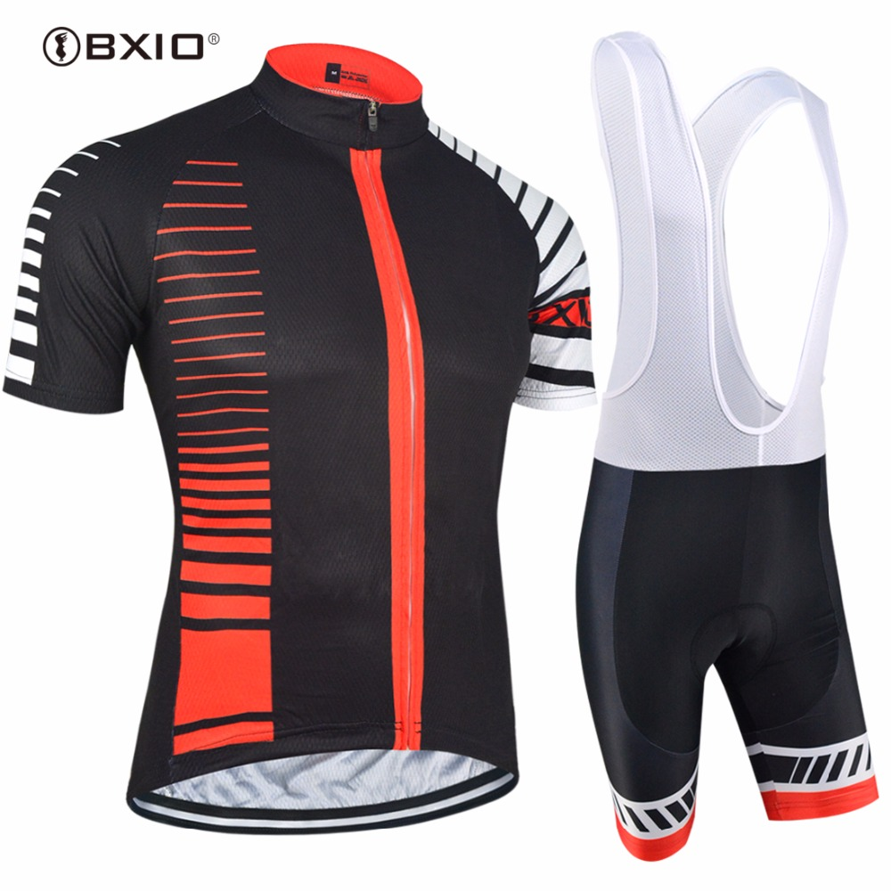 BXIO Cycling Jerseys Set Custom Clothing Road Bike Jersey Brand Termica Bicicletas Pro Tour Teams Ropa Ciclismo Jerseys 098