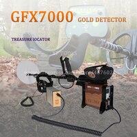 Бесплатная доставка самородок детектор лучший Золотой металлический детектор GFX7000 Глубокий поиск подземное Золото детектор
