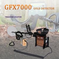 FREE SHIPPING NUGGET DETECTOR best gold metal detector GFX7000 deep search underground gold detector