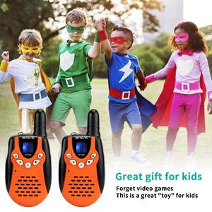 Image 5 - Retevis RT602 Walkie Talkie Kids Rechargeable 2pcs PMR446 FRS 0.5W Children Toy Two way Radio Flashlight Festival Christmas Gift