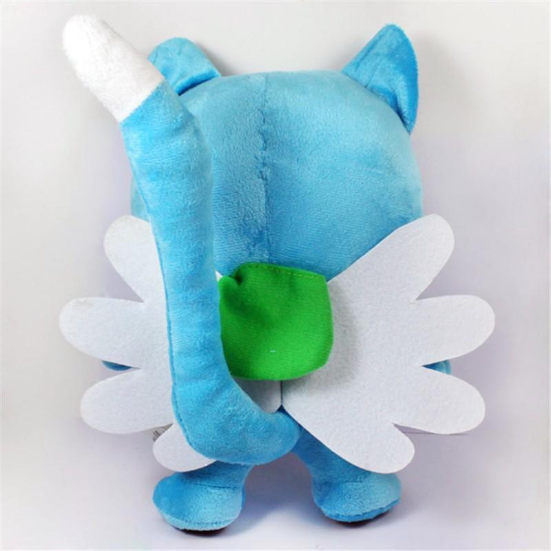 Anime Fairy Tail Figures 1230cm Happy Blue Cat Plush Toys Super Kawaii Neko Soft Dolls Gift for Baby Kids Friends  (7)