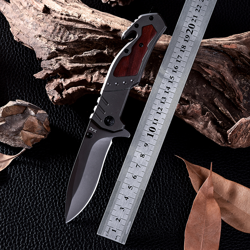 X42 New Design Browning Cold Steel Survival font b Tactical b font Folding font b Knife