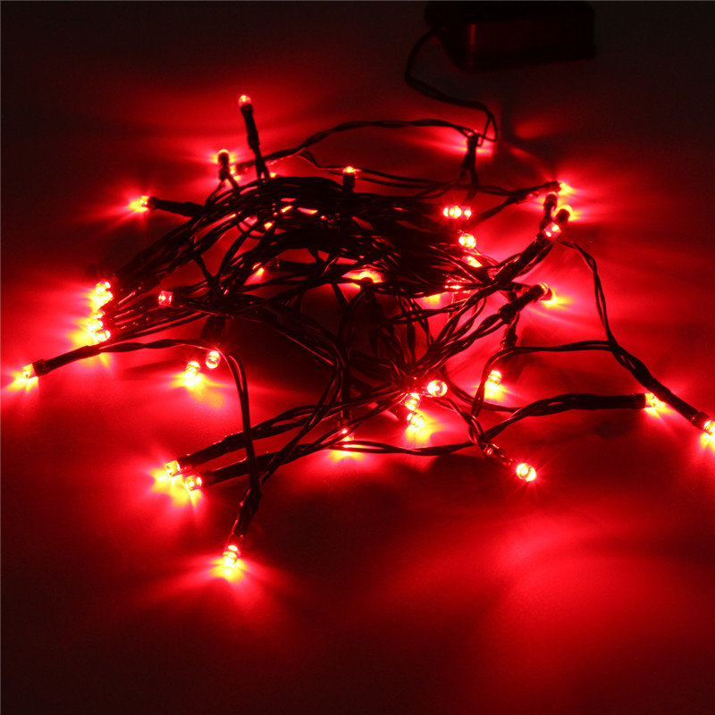 5 2m Solar Ed Colorful Fairy Light 50 Led String 1 5w Outdoor Garden Yard Path Chirstmas Party Decor Lamp In Lighting Strings From