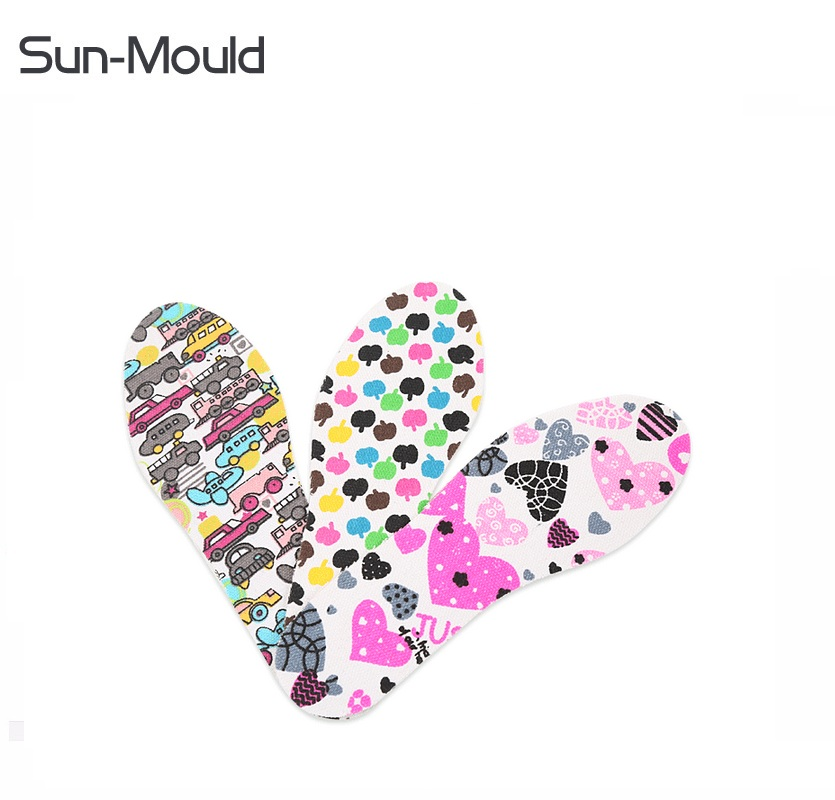 Diy cutting children girl boy arch shoe insoles Kids comfort healthy inserts palmilha altura memory foam insole 10pairs/lot expfoot orthotic arch support shoe pad orthopedic insoles pu insoles for shoes breathable foot pads massage sport insole 045