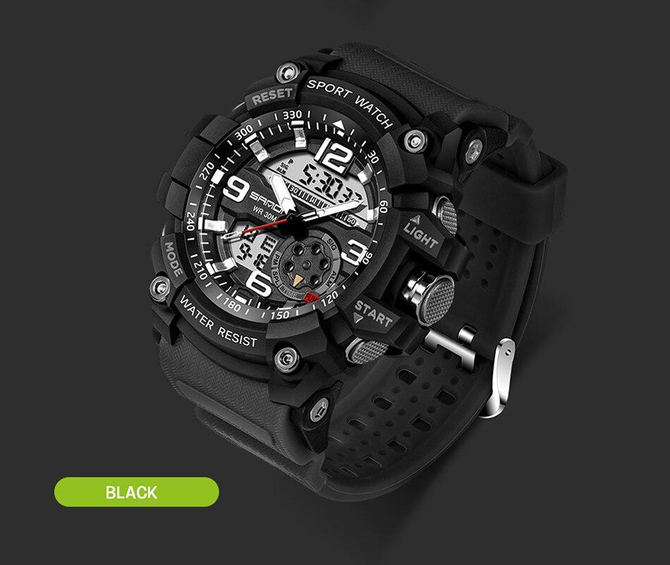 HTB11Db2ubSYBuNjSspfq6AZCpXa9 SANDA 759 Sports Men's Watches Top Brand Luxury Military Quartz Watch Men Waterproof S Shock Wristwatches relogio masculino 2019