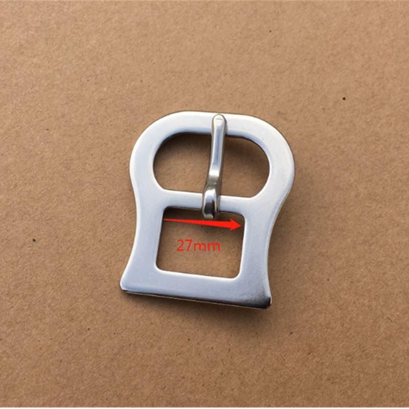 Пряжка из нержавеющей стали для конского седла ковриков Cinch Pin пряжка металлическая обхватная пряжка - Цвет: 27mm